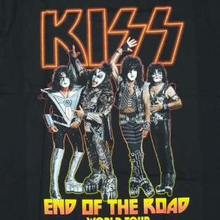 KISS - End of the Road World Tour (Black Tea)